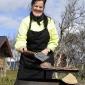 Mia Bäckström kockar på fjället