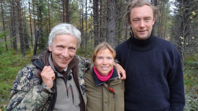 Nikolai, Evelina och Jörgen
